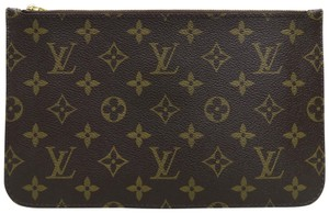 Louis Vuitton Lv Pouch Neverfull Canvas Cross Body Bag