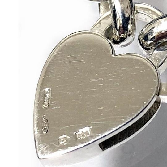 Gucci Sterling Silver Heart Padlock Necklace Image 2