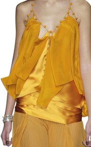 Saint Laurent Blouse Ysl Silk Ysl Runway Ysl Silk Blouse Top