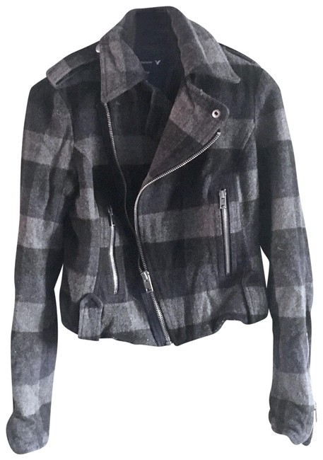 Preload https://img-static.tradesy.com/item/22937744/american-eagle-outfitters-gray-womens-small-black-plaid-check-zip-coat-small-wool-jacket-size-6-s-0-1-650-650.jpg