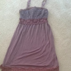 Free People short dress Brown on Tradesy