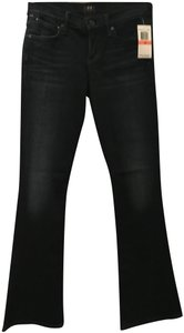 Citizens of Humanity Logo Boot Cut Jeans-Dark Rinse