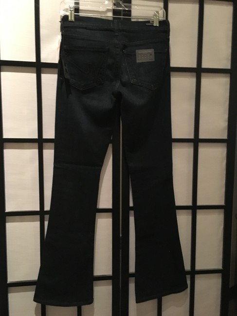 Citizens of Humanity Logo Boot Cut Jeans-Dark Rinse Image 1