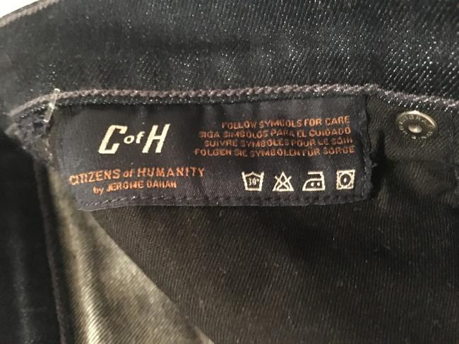 Citizens of Humanity Logo Boot Cut Jeans-Dark Rinse Image 4