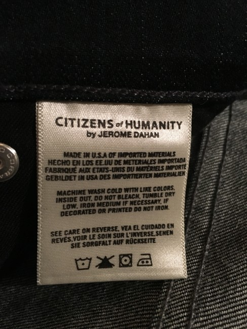 Citizens of Humanity Logo Boot Cut Jeans-Dark Rinse Image 5