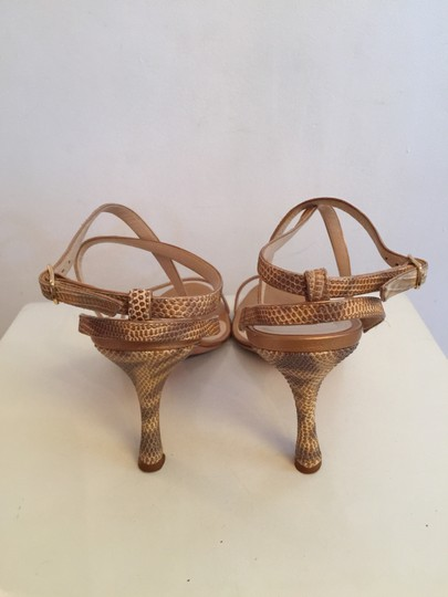 Manolo Blahnik Gold Pumps Image 2