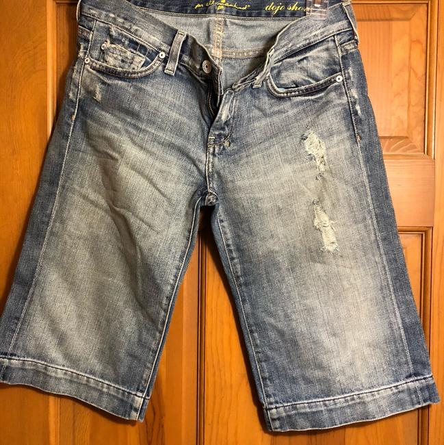 7 For All Mankind Denim Shorts-Distressed Image 1