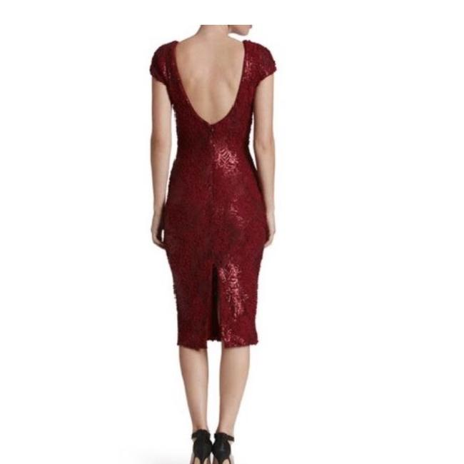 Dress the Population Lace Midi Sequin Dress Image 1
