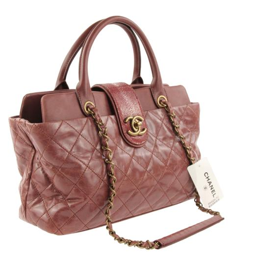 Chanel Satchel in Pink Image 1