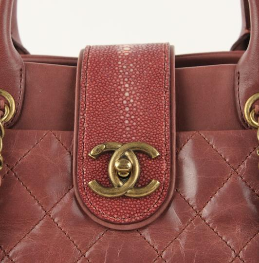 Chanel Satchel in Pink Image 5