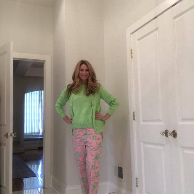 Lilly Pulitzer Capris Pink and Green Image 3