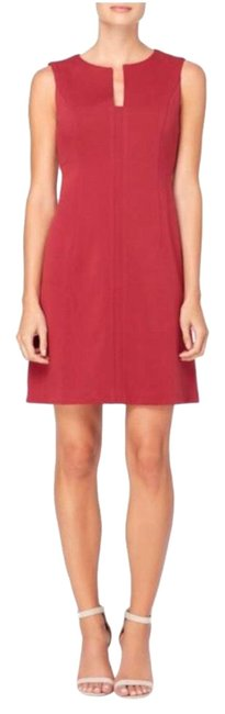 Preload https://img-static.tradesy.com/item/22939361/catherine-malandrino-burgundy-red-linden-split-neck-sheath-short-workoffice-dress-size-14-l-0-1-650-650.jpg