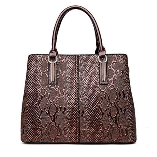 Preload https://img-static.tradesy.com/item/22939419/the-leona-crocodile-embossed-handbag-brown-vegan-leather-satchel-0-0-540-540.jpg