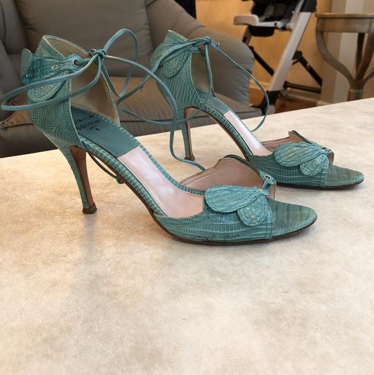 Laurence Dacade Teal Sandals Image 1