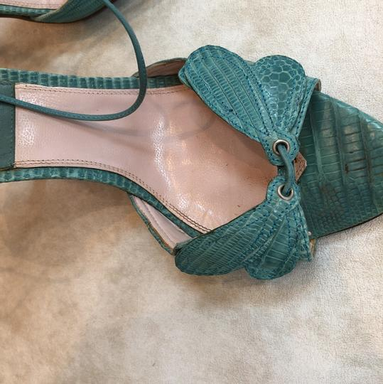 Laurence Dacade Teal Sandals Image 5