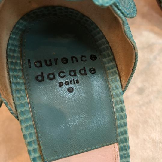 Laurence Dacade Teal Sandals Image 6