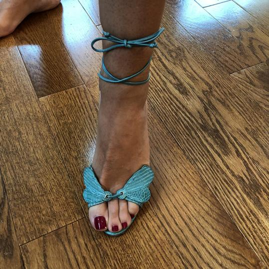 Laurence Dacade Teal Sandals Image 7