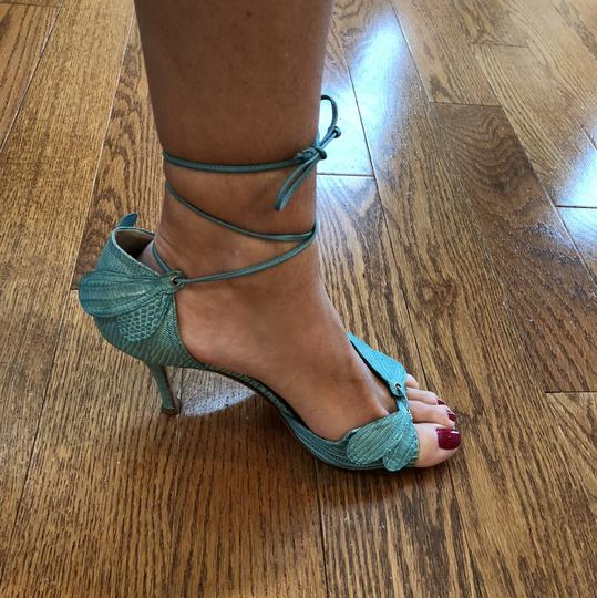 Laurence Dacade Teal Sandals Image 8