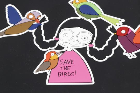 Marc by Marc Jacobs MARC BY MARC JACOBS Ipad Case Save The Birds Premium For Apple Image 8