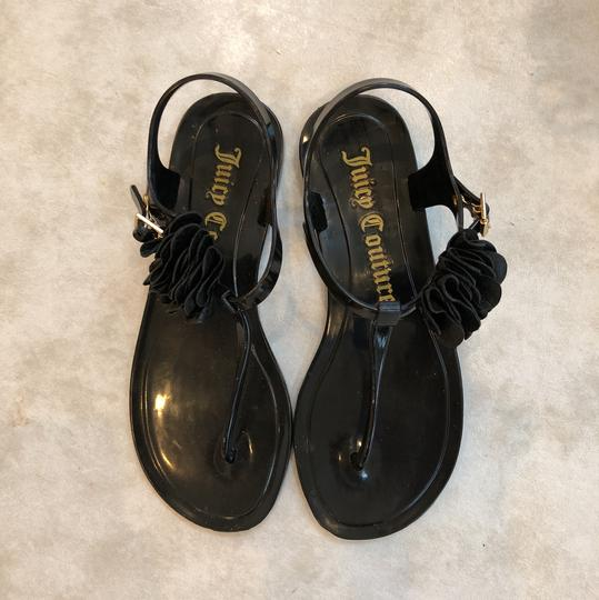 Juicy Couture Black Sandals Image 2