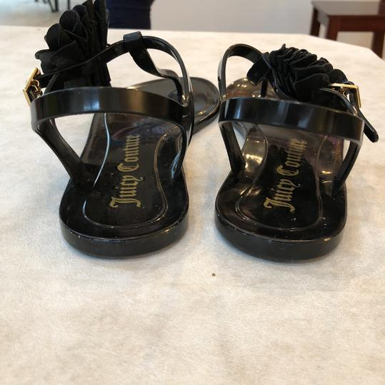 Juicy Couture Black Sandals Image 3
