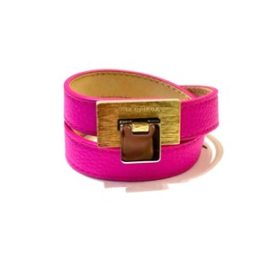 Balenciaga Le Dix Leather Wrap Bracelet