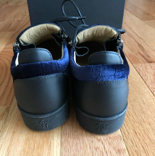 Giuseppe Zanotti blue ,black Athletic Image 2