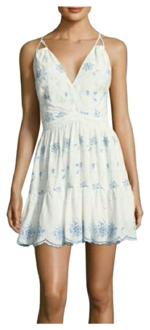 Winter white short dress on Tradesy Image 0