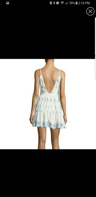Winter white short dress on Tradesy Image 1