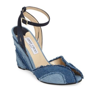 Jimmy Choo Denim Wedges