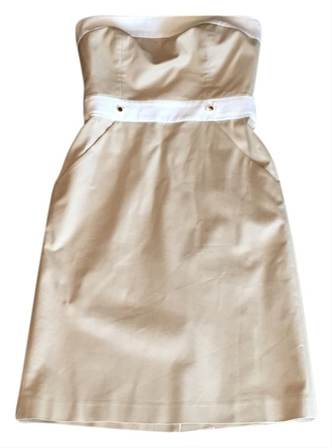 MILLY short dress Tan on Tradesy
