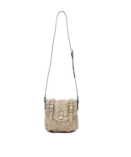Marc by Marc Jacobs Ostrich Messenger Cross Body Bag Image 2