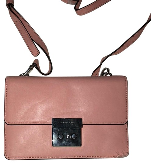 022365221b2b97 Pale Pink Leather Crossbody Bag | Stanford Center for Opportunity ...