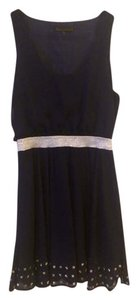 Lucca Couture Studded Party A-line Dress