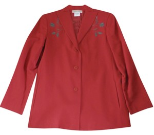 Harvé Benard Red Blazer