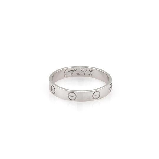 Preload https://img-static.tradesy.com/item/22941355/cartier-mini-love-18k-white-gold-35mm-band-size-eu-58-us-8-wpaper-ring-0-0-540-540.jpg