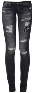 AG Adriano Goldschmied Legging Super Skinny Jeans-Distressed