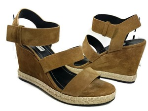 Balenciaga brown Wedges