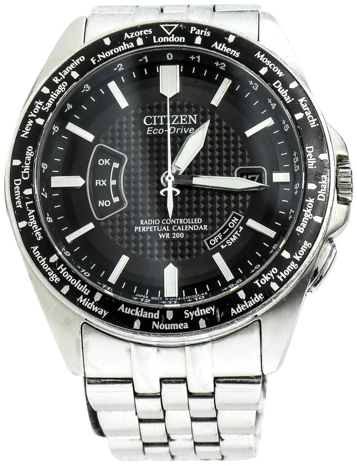 116c6e17b Citizen * Stainless Steel Drive Radio Controlled Watch - Tradesy