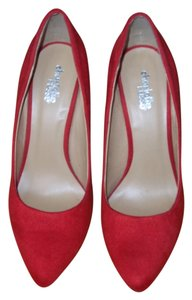 Charlotte Russe Red Pumps