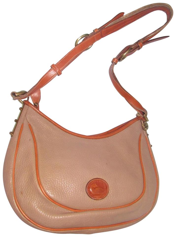 Dooney   Bourke Awl All Line Early D b Mint Vintage Rare Style Hobo Bag ... e27892897f43a