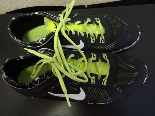 Nike Gym Fit Fitness Train Training Workout Black/White/Yellow Athletic