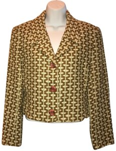 Doncaster brown green cream Blazer