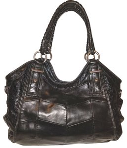 BCBGeneration Leather Refurbished Lined Hobo Bag