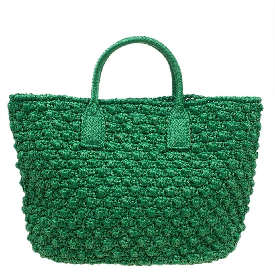 Pouch and Raffia Dolce Shopping amp;Gabbana Alma Dolce Tote Gabbana with Miss Green 8ZBfAwqTZ