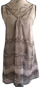 ANGL short dress brown gray on Tradesy