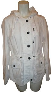 a.n.a. a new approach Hooded white Jacket