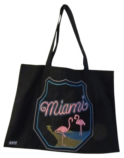 Preload https://item5.tradesy.com/images/miami-black-cotton-tote-2294324-0-0.jpg?width=440&height=440