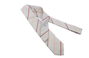 Gucci Gucci Men's Henning Stripped Beige Necktie for Men 367506