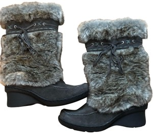 Bare Traps Grey Boots
